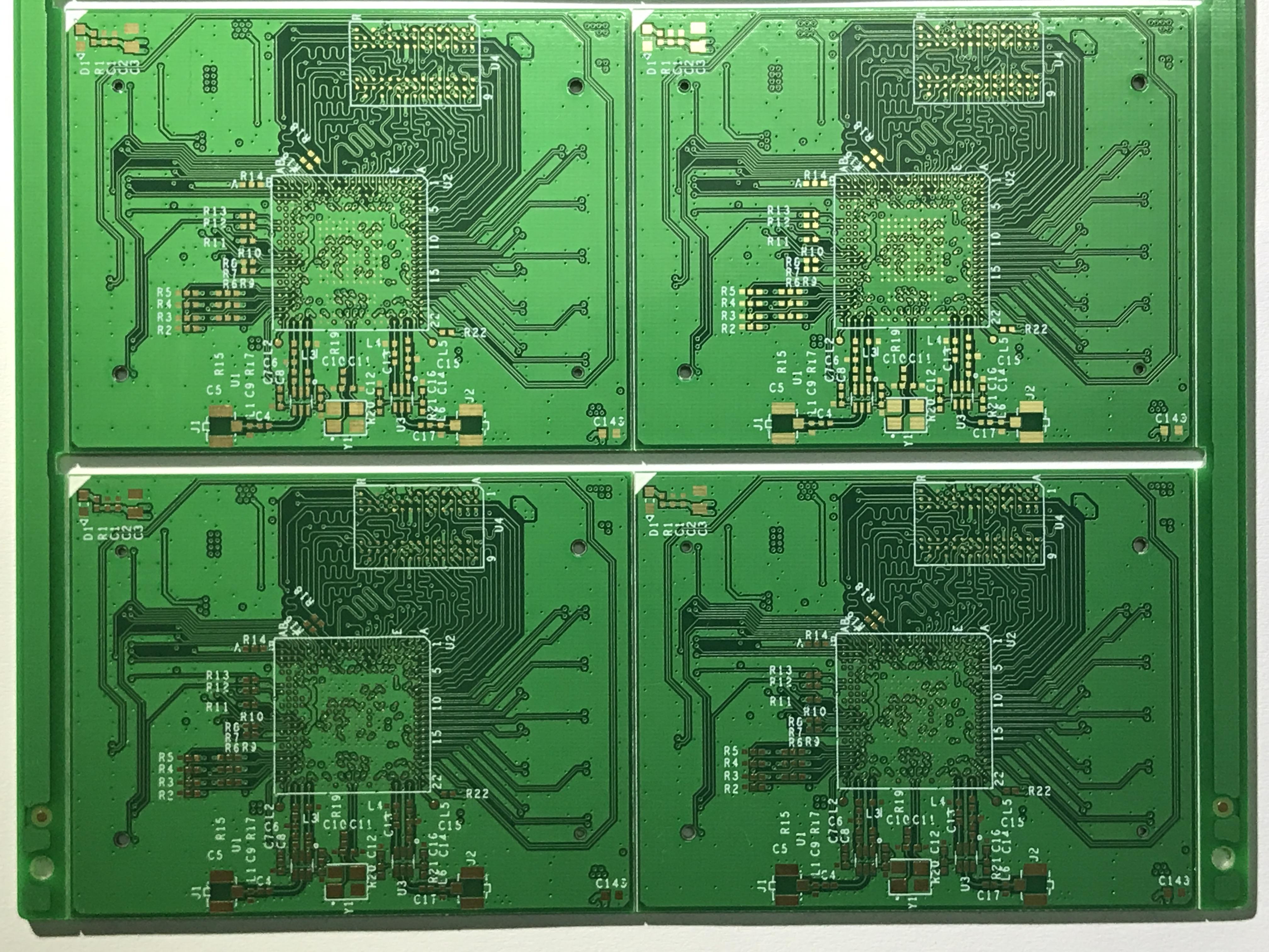电路板特性阻抗的控制,其走线可形成易控制和可预测的传输线结构叫做
